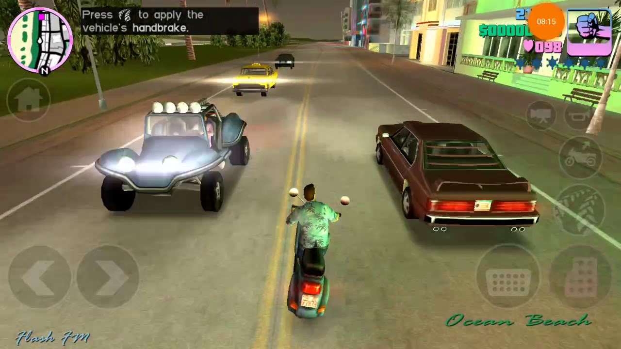 gta vice city apk obb 100mb
