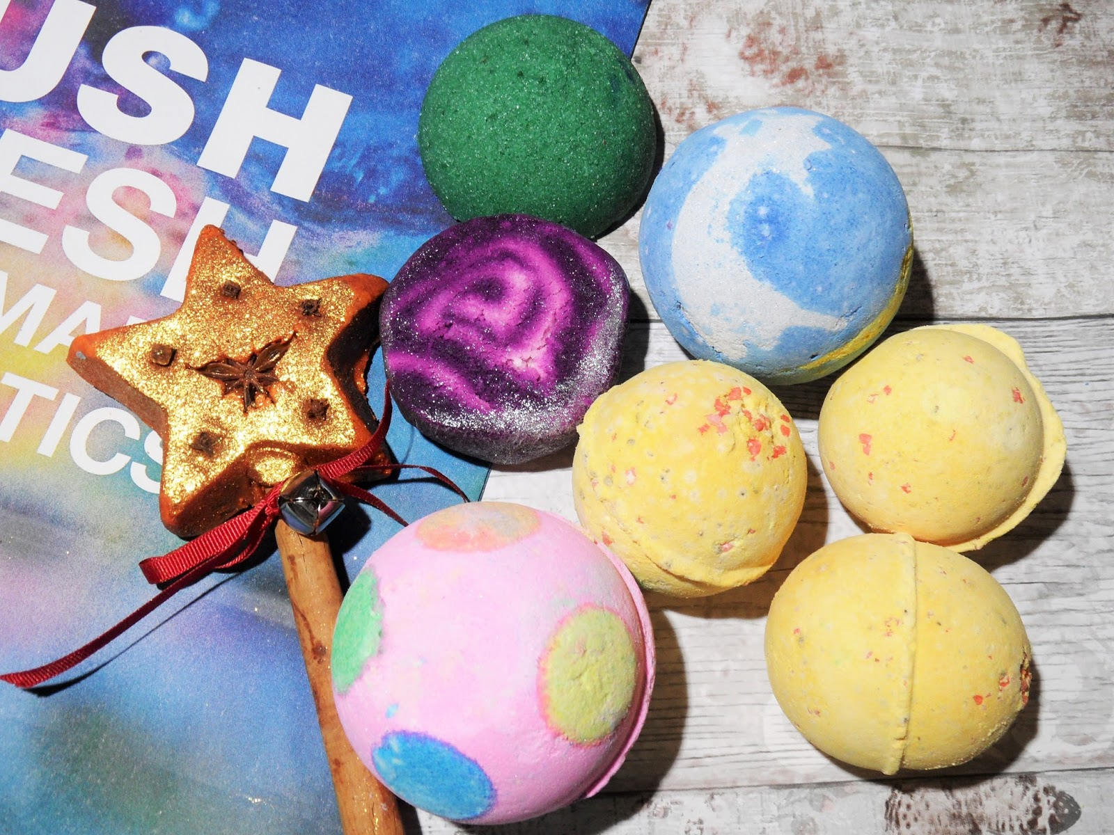 Christmas 2015 LUSH Sale Haul