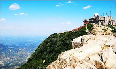 จักรพรรดิหยก (Jade Emperor Peak) / เขาไท่ซาน (Mount Tai)