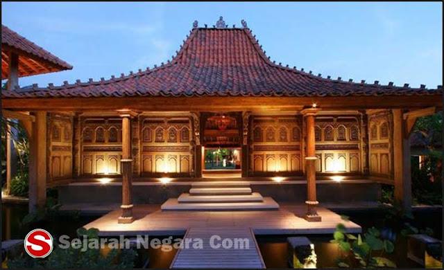Gambar Rumah adat ukir Jawa Timur
