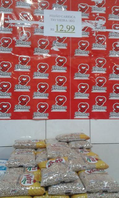 Preço do quilo do feijão dispara e em Delmiro Gouveia está sendo vendido a R$ 12,99