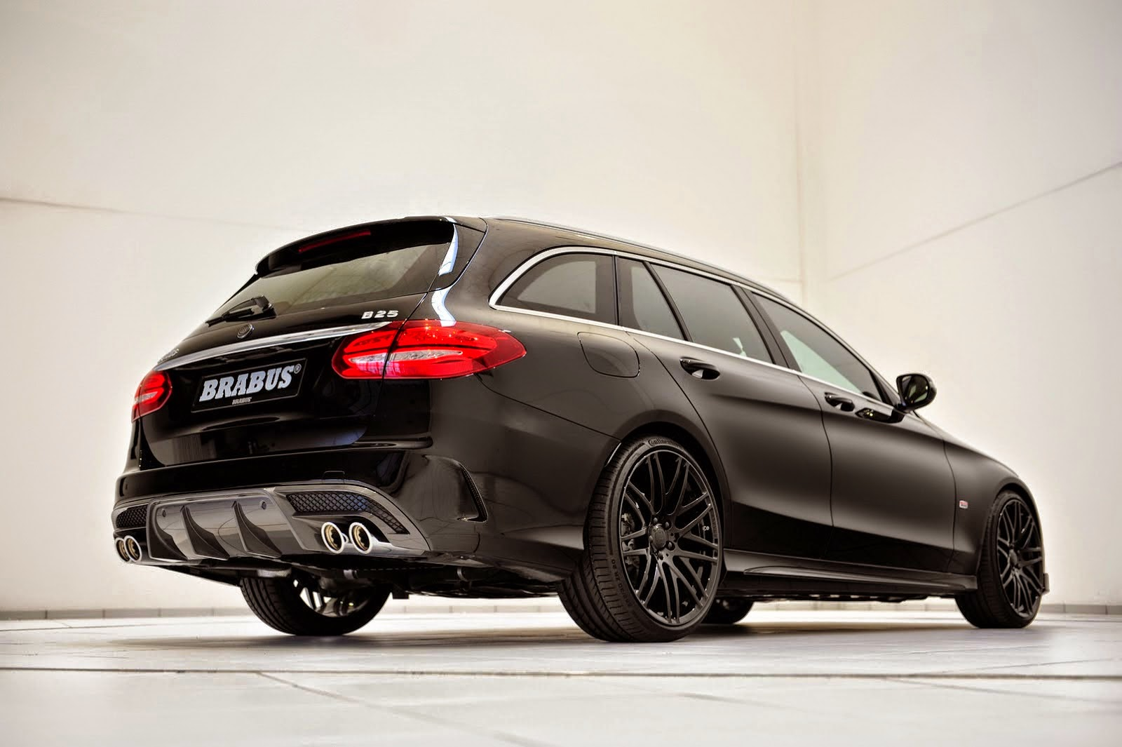 brabus b25 based on mercedes benz s205 c class benztuning. Black Bedroom Furniture Sets. Home Design Ideas