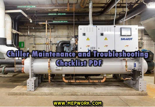 Download Chiller Maintenance and Troubleshooting Checklist PDF