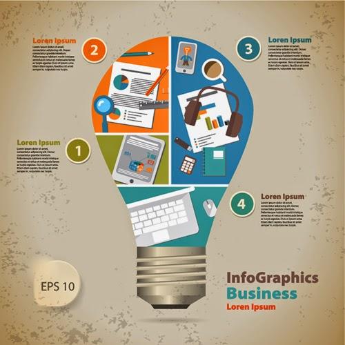 25 Plantillas Para Infografías Gratis Y Editables