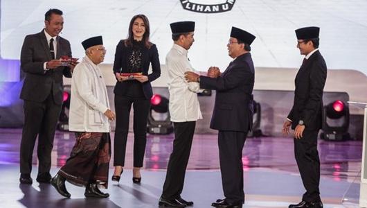 Jokowi Ungguli Prabowo Dalam Percakapan Media Sosial Saat Debat Capres