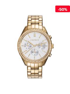 Ceas dama elegant auriu Esprit ES109232001