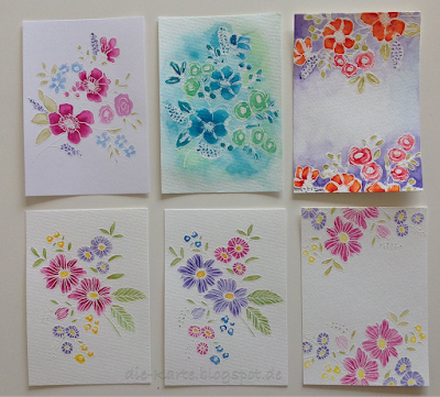 Flowerstamps Christine Adolph
