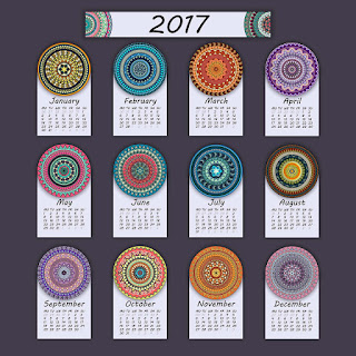 2017カレンダー無料テンプレート102