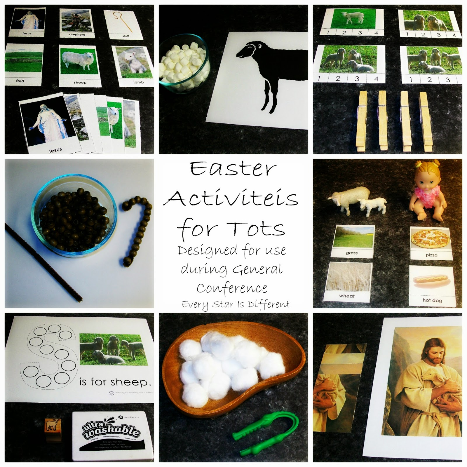 Easter Activities for Tots