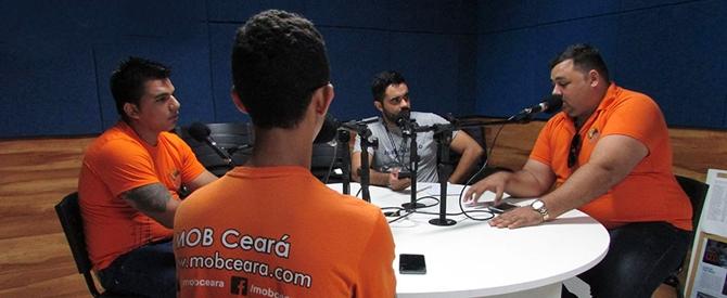 MOB Ceará participa de reportagem acadêmica sobre busologia