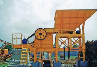 Mesin Pemecah Batu, Stone Crusher, roll crusher, gyratory, jaw crusher, Kapasitas Besar,