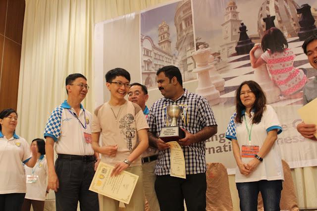 Yeoh Li Tian in India
