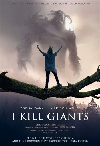 I Kill Giants 2018 English 480p WEB-DL 350MB ESubs