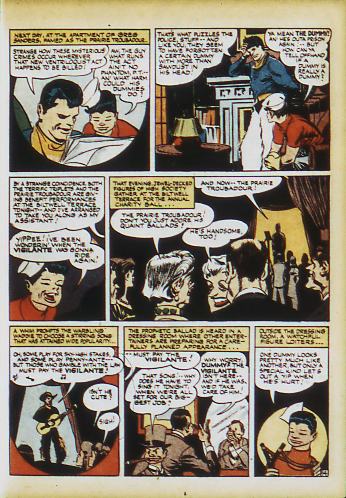 Read online Action Comics (1938) comic -  Issue #63 - 20
