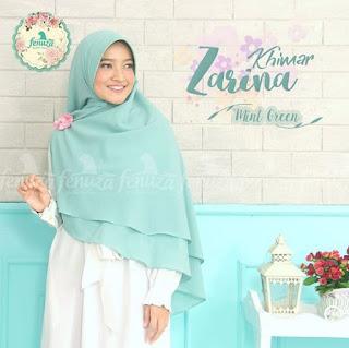 Khimar Fenuza Zarina Np Mint Green
