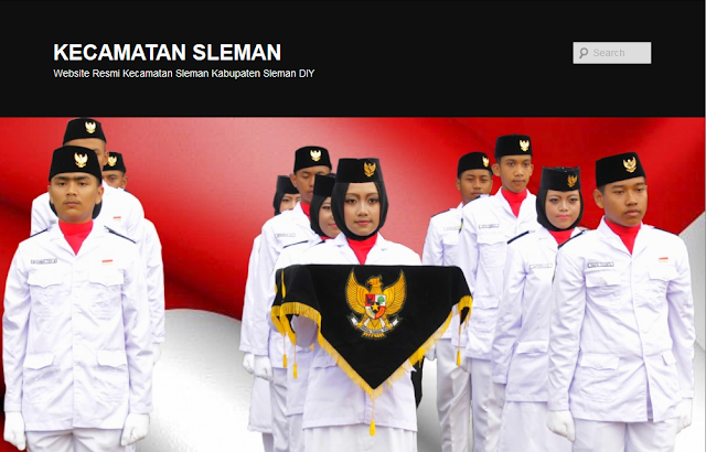 website kecamatan sleman