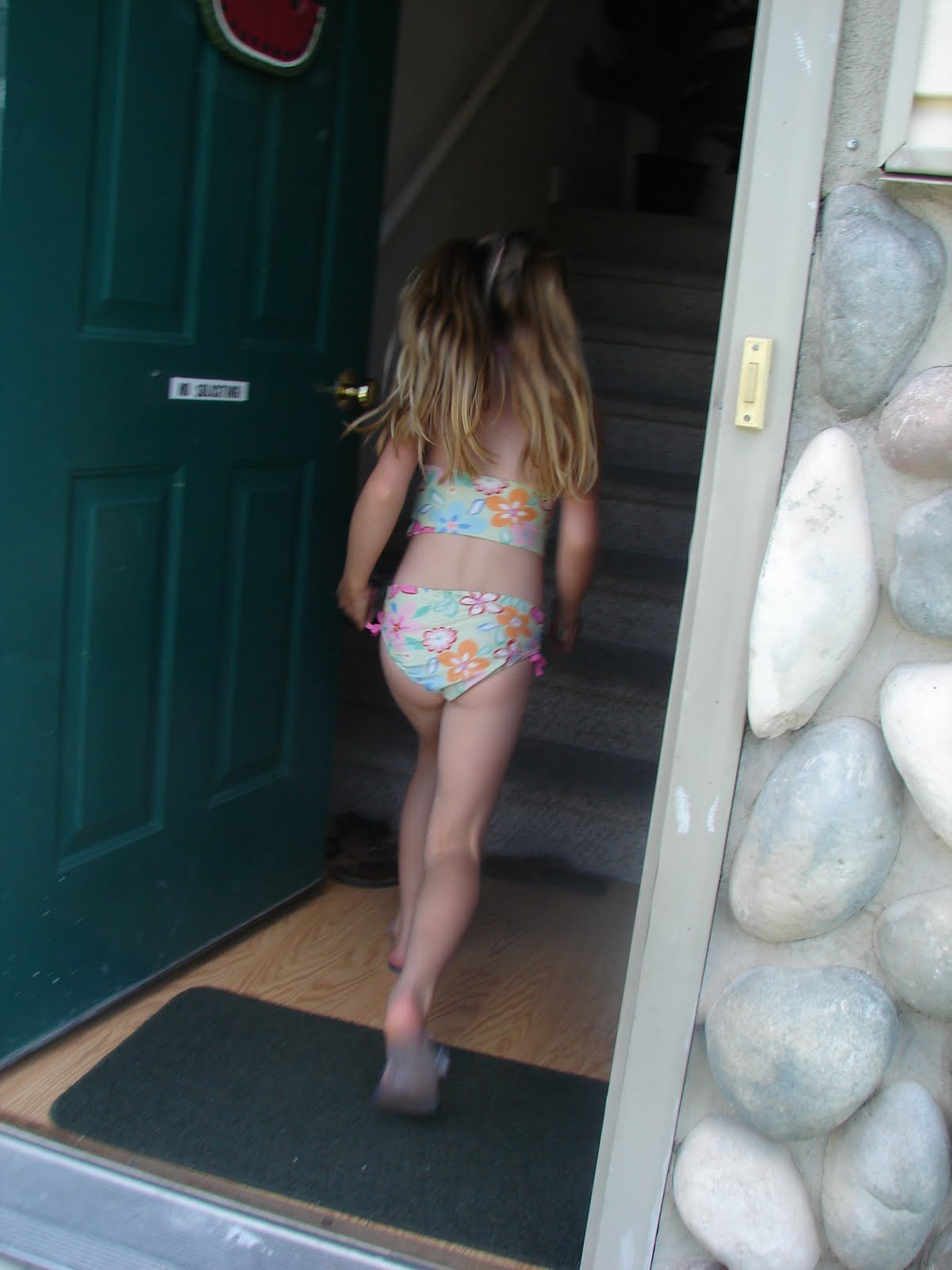 Girls pee in bathing suit opinion you