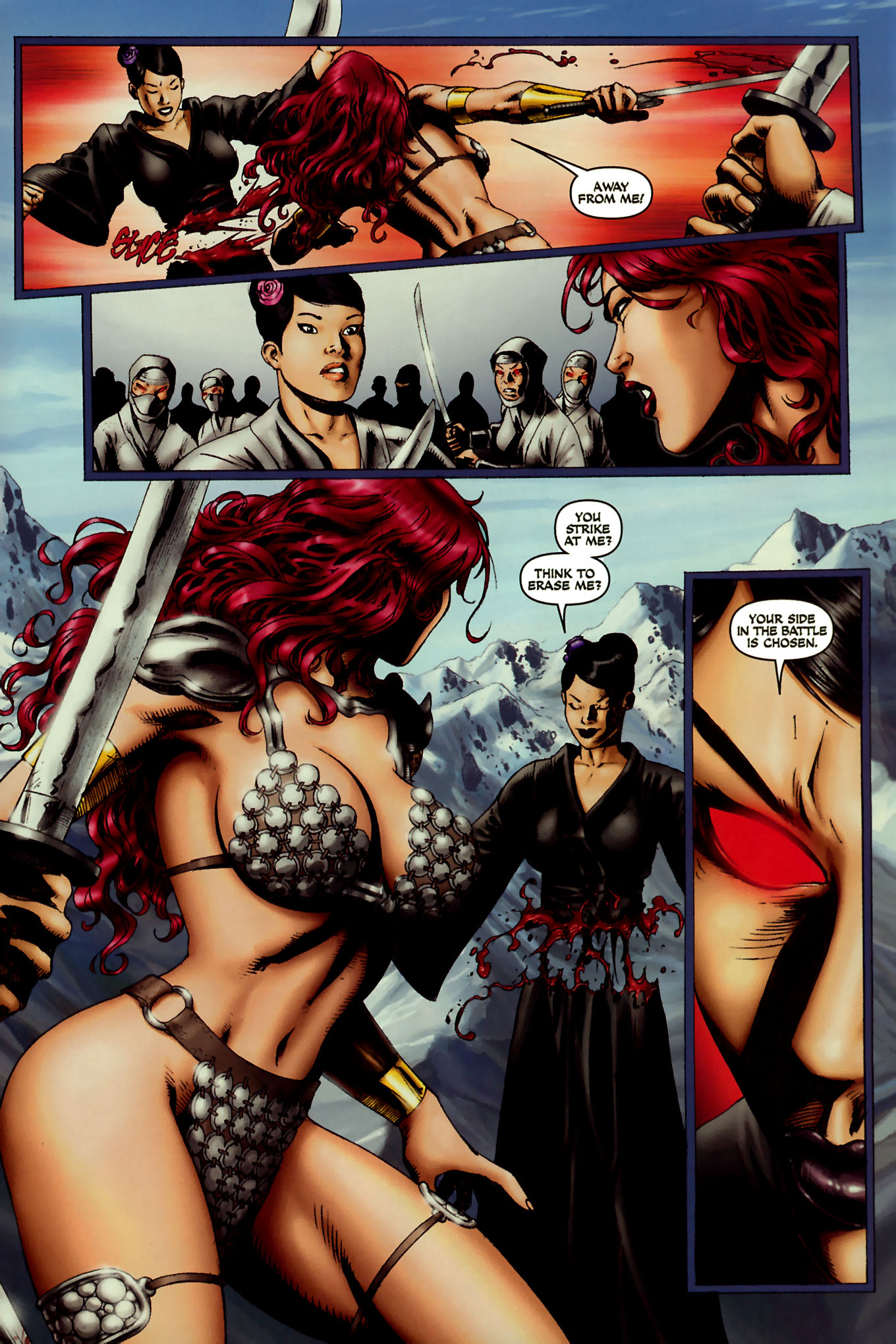 Read online Red Sonja (2005) comic -  Issue #45 - 21
