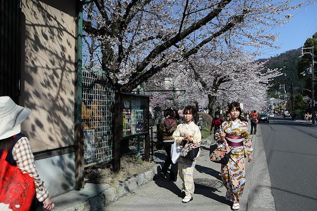 Japanese girls with yukata