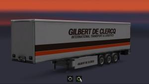 Trailer Gilbert de Clercq
