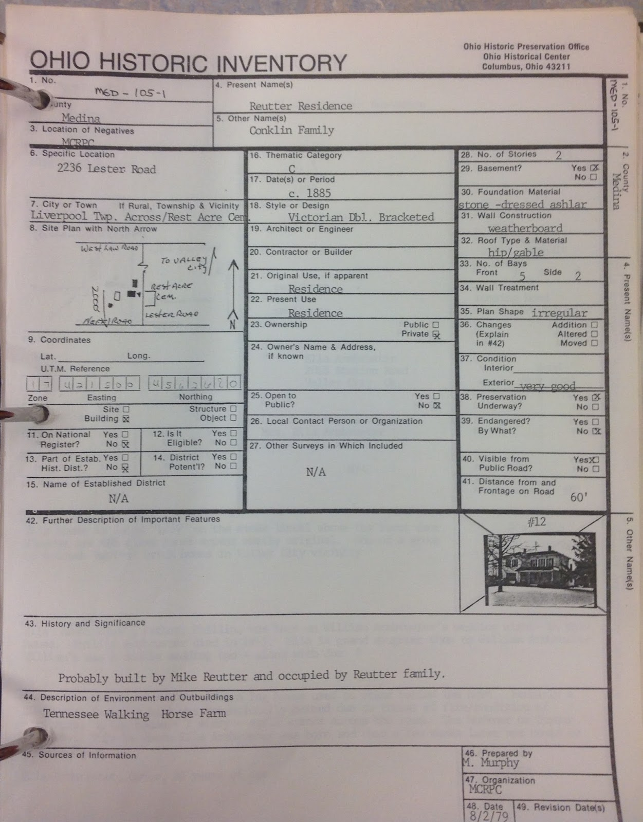 Mcdl genealogy march 2017 a sample sheet from the ohio historic inventory fandeluxe Choice Image