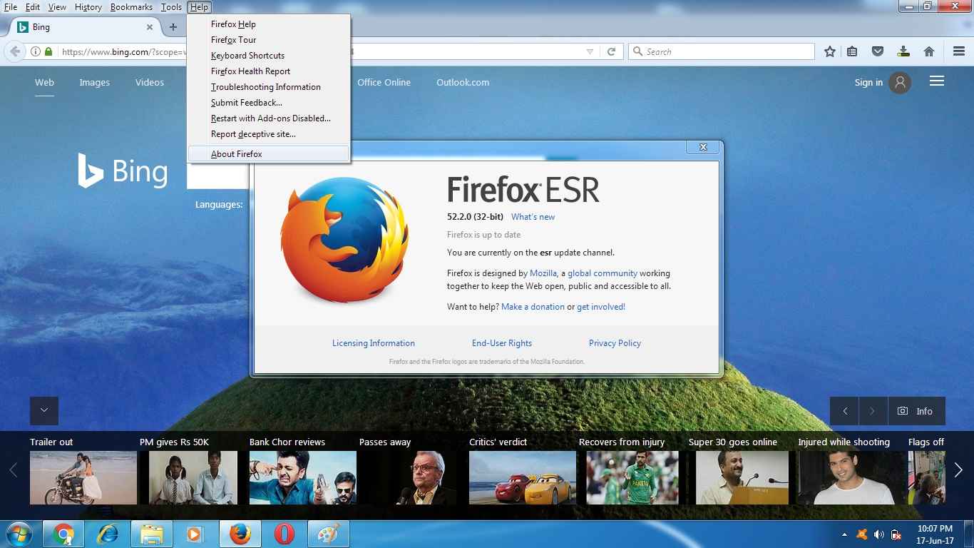 How to install Java Supported Mozilla Firefox ESR 52.2.0 ...