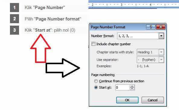 Cara Menghilangkan Nomor Halaman Pertama Pada MS Office Word