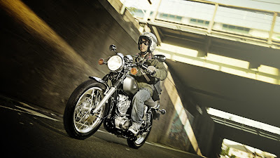 2016 Yamaha SR400 classic bike