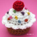 patron gratis cupcake amigurumi