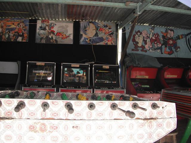 Old arcade games San Pedro la Laguna Guatemala