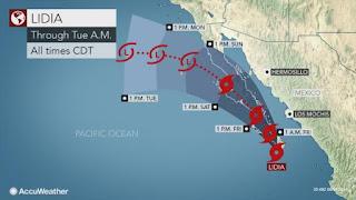 Mexico's south Baja peninsula braces for tropical storm Lidia