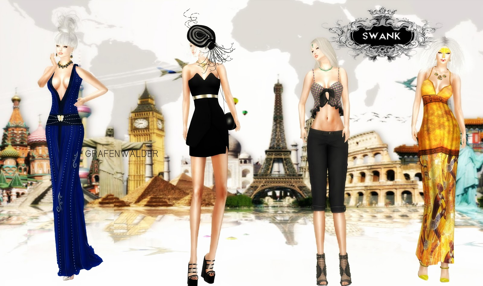 Around The World Grafenwalder Fashion Style