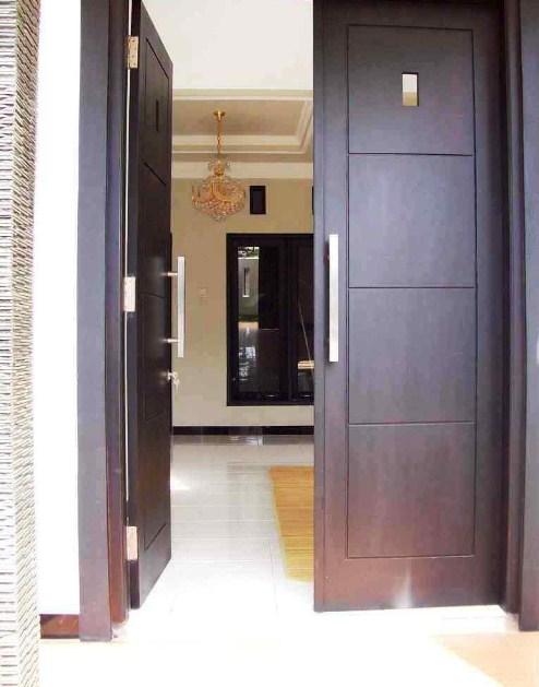 pintu rumah minimalis 2 pintu besar kecil 2015