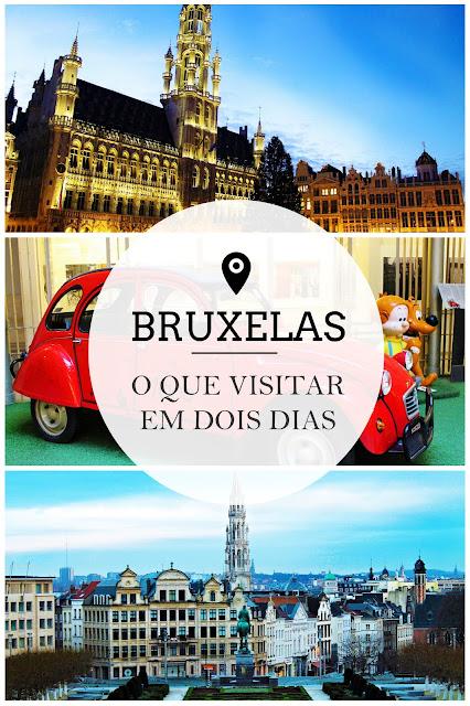 Drawing Dreaming - O que visitar em Bruxelas em dois dias