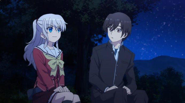 Charlotte - Daftar Rekomendasi Anime Action Romance Terbaik