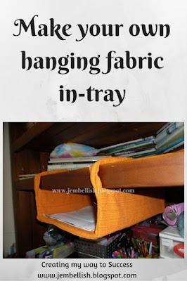 Hanging Fabric In-Tray