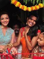 Kajal launch mugdha art studio-cover-photo