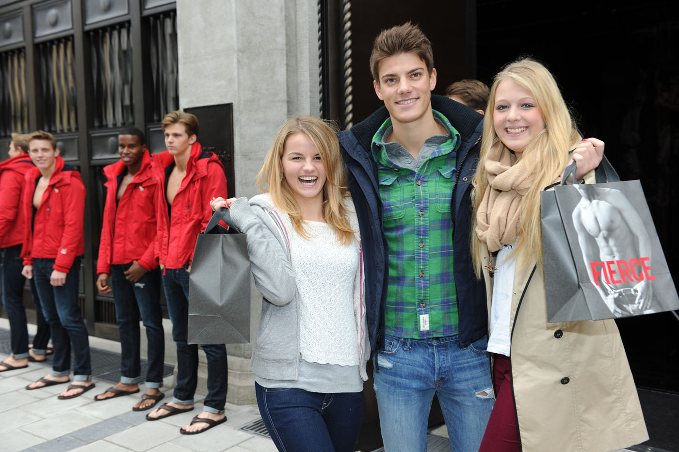 Baby Model München Opening Of Abercrombie And Fitch Munich Flagship Store Oh