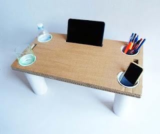mesa-cartón-reciclado