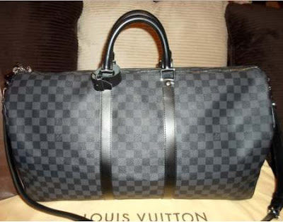 LV Keepall 55 Graphite