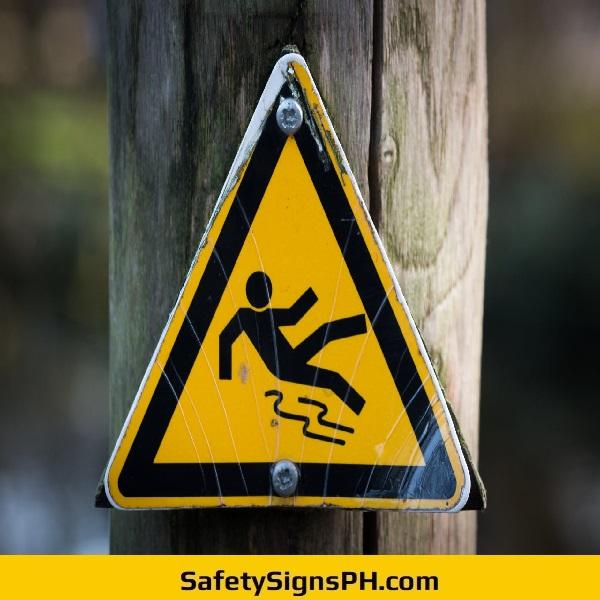 Falling Risk Sign