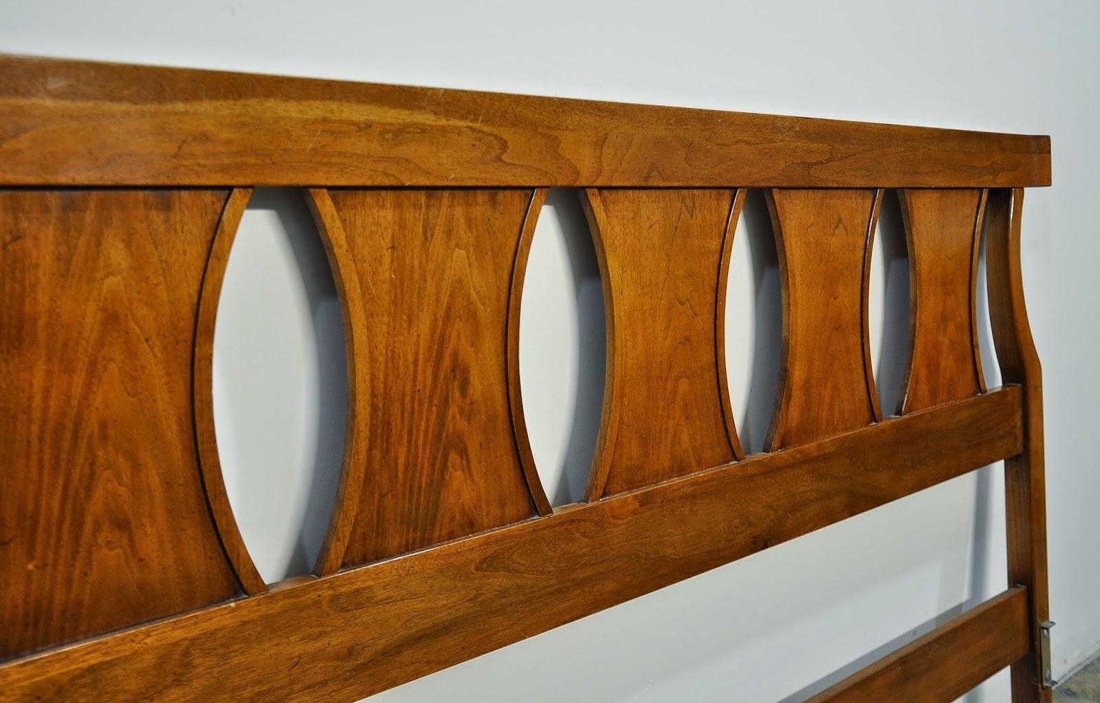 Select Modern Mid Century Modern King Headboard Bed