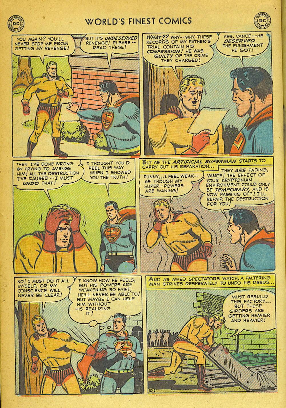 Read online World's Finest Comics comic -  Issue #57 - 12