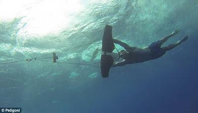 Mengenal Subwing Olahraga Terbang Dibawah Air  MENGENAL SUBWING OLAHRAGA TERBANG DIBAWAH AIR