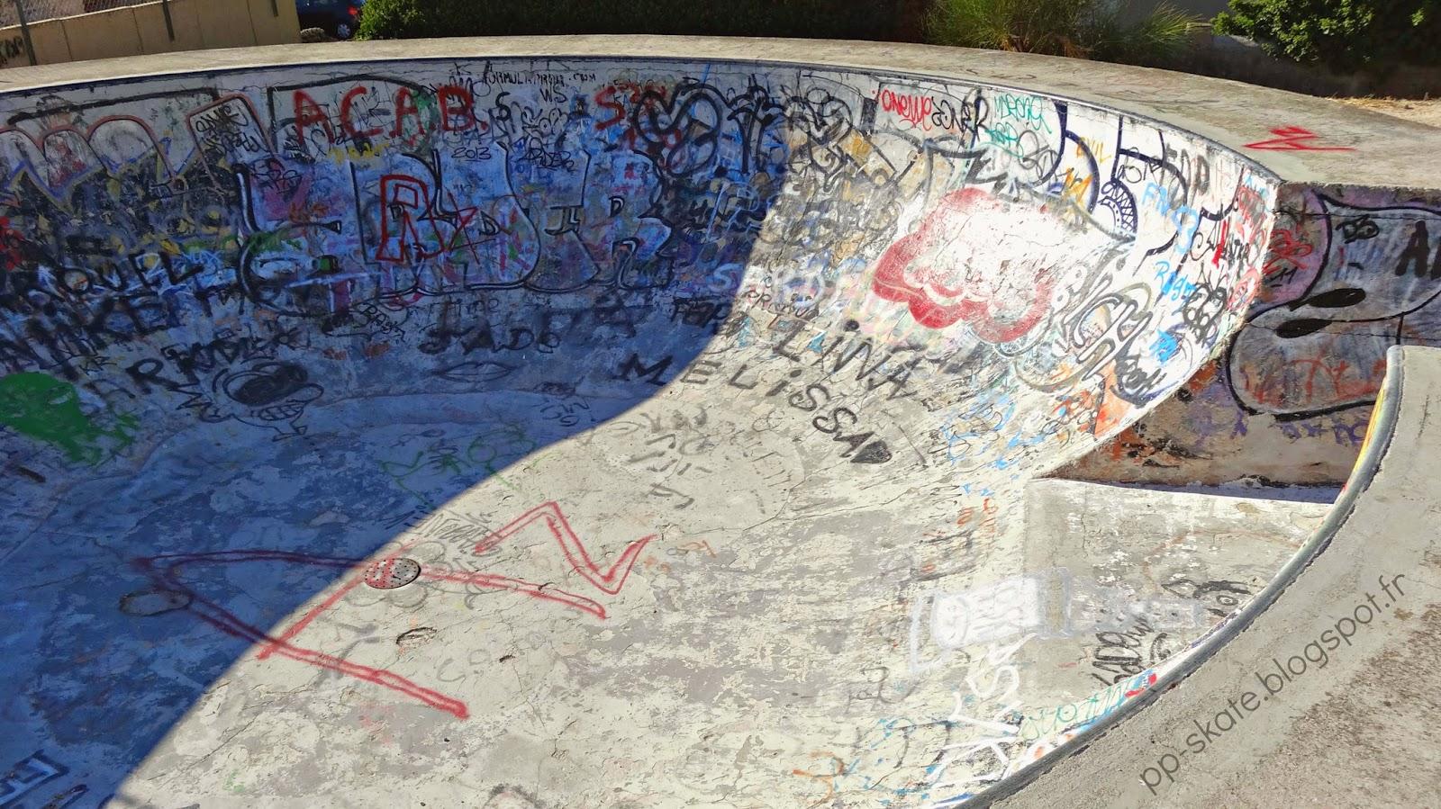 Skatepark Marseille Valmante