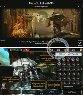 download Game Warhammer 40,000: Freeblade V1.6.1 Mod for android