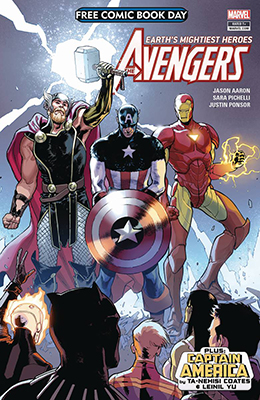 Free Comic Book Day: The Avengers + Captain America