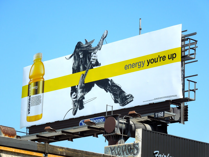 Vitamin Water energy guitarist billboard