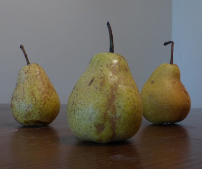 small pear close up