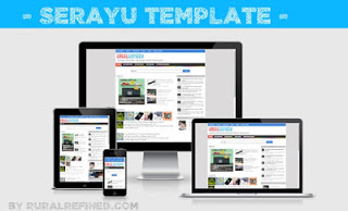 Template Serayu Responsive Super Fast Loading and SEO Friendly